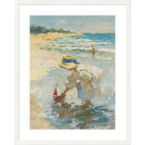 Global Gallery Seaside Summer Ii By Vitali, 40 X 32-Inch Wall Art