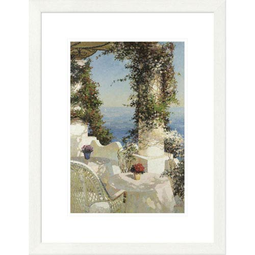 Global Gallery Positano Seascape By Vitali, 26 X 20-Inch Wall Art