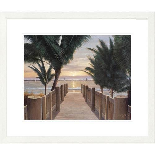 Global Gallery Palm Promenade By Diane Romanello, 24 X 28-Inch Wall Art