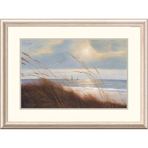 Global Gallery Sailboat Breezeway By Diane Romanello, 24 X 32-Inch Wall Art