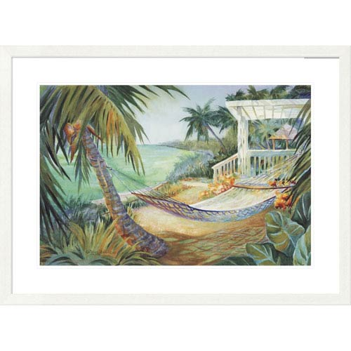 Global Gallery Lazy Daze Ii By Kathleen Denis, 28 X 38-Inch Wall Art