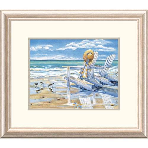 Global Gallery Seaside Ii By Kathleen Denis, 19 X 22-Inch Wall Art