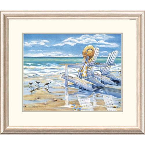 Global Gallery Seaside Ii By Kathleen Denis, 24 X 28-Inch Wall Art