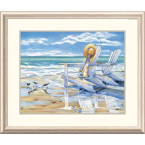 Global Gallery Seaside Ii By Kathleen Denis, 28 X 32-Inch Wall Art