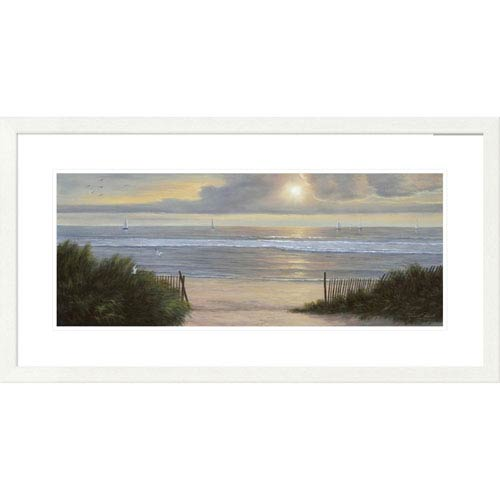 Global Gallery Summer Moments Ii By Diane Romanello, 20 X 38-Inch Wall Art