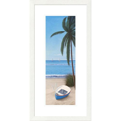 Global Gallery Escape To Paradise Ii By Diane Romanello, 28 X 16-Inch Wall Art