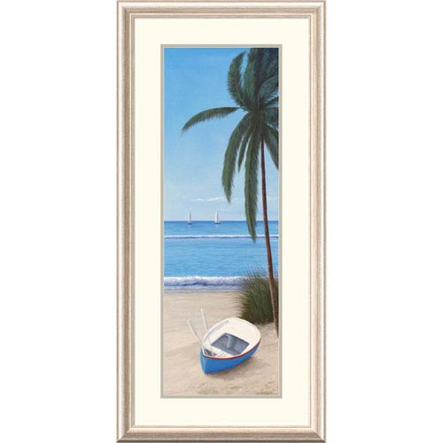 Global Gallery Escape To Paradise Ii By Diane Romanello, 44 X 20-Inch Wall Art