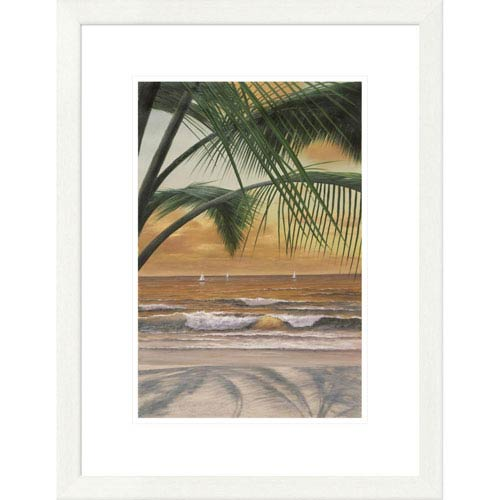 Global Gallery Paradiso Sunset By Diane Romanello, 26 X 20-Inch Wall Art