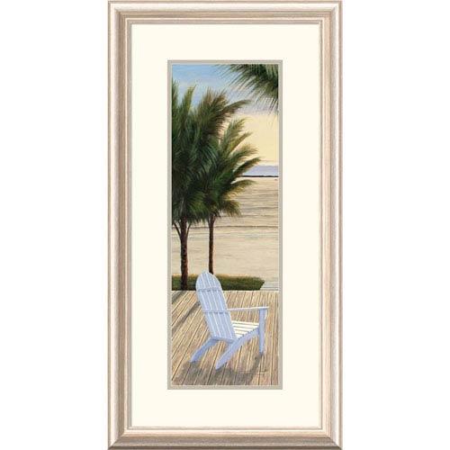 Global Gallery Palm Beach Retreat Panel I By Diane Romanello, 28 X 16-Inch Wall Art