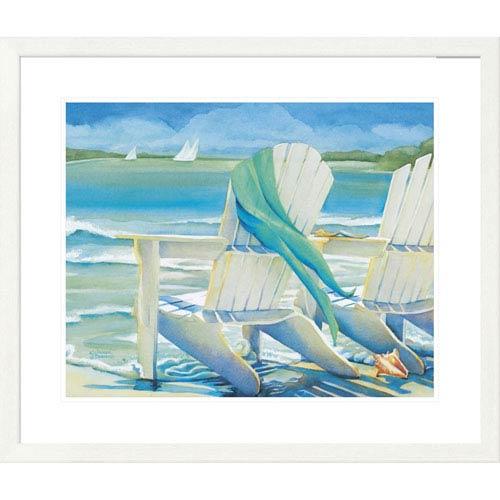 Global Gallery Seaside Breeze By Kathleen Denis, 28 X 32-Inch Wall Art