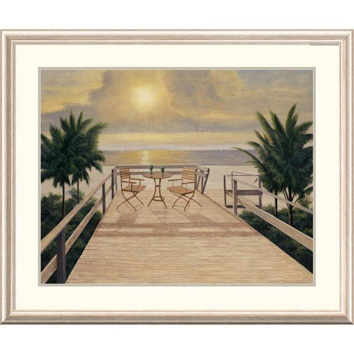Global Gallery Sunset Dreams By Diane Romanello, 32 X 40-Inch Wall Art