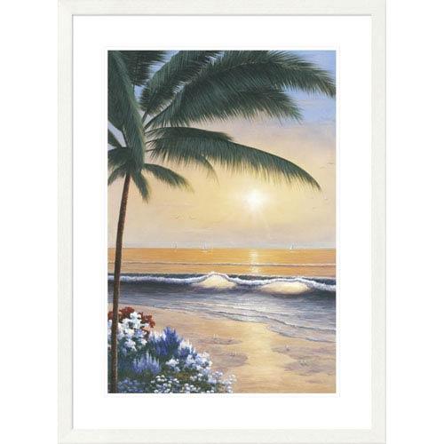Global Gallery Palm Beach Sunrise By Diane Romanello, 38 X 28-Inch Wall Art