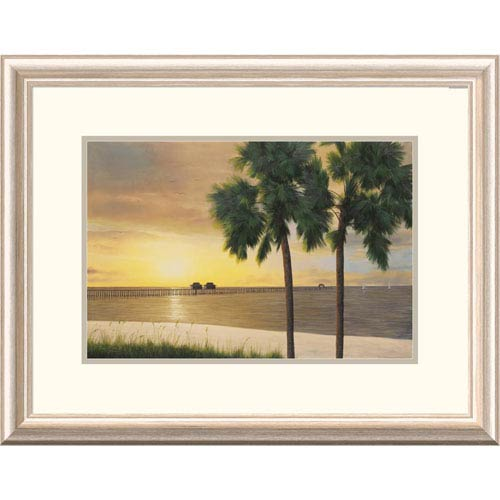 Global Gallery Naples Sunset By Diane Romanello, 20 X 26-Inch Wall Art
