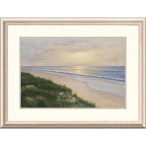Global Gallery Seaside By Diane Romanello, 24 X 32-Inch Wall Art