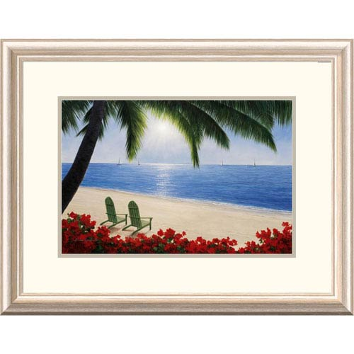 Global Gallery By The Sea By Diane Romanello, 20 X 26-Inch Wall Art