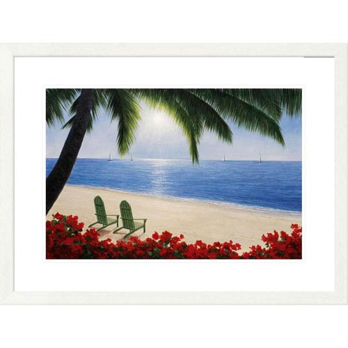 Global Gallery By The Sea By Diane Romanello, 24 X 32-Inch Wall Art