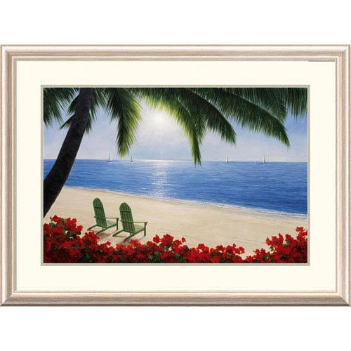 Global Gallery By The Sea By Diane Romanello, 28 X 38-Inch Wall Art