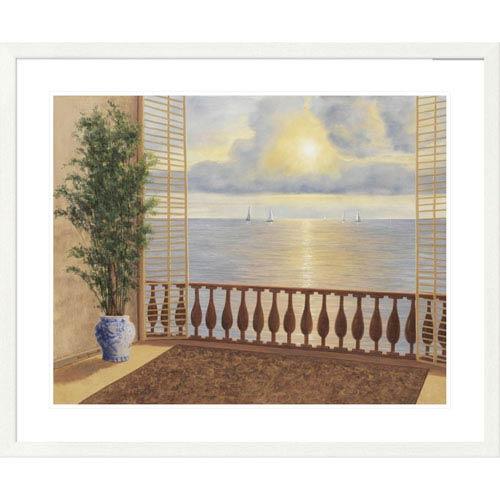 Global Gallery Ocean Villa By Diane Romanello, 32 X 40-Inch Wall Art