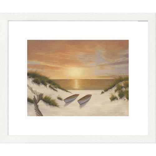 Global Gallery Sunset Serenade By Diane Romanello, 20 X 24-Inch Wall Art