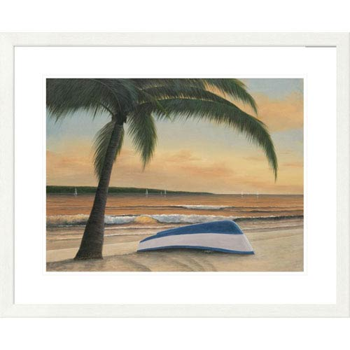 Global Gallery Golden Sunset By Diane Romanello, 26 X 32-Inch Wall Art