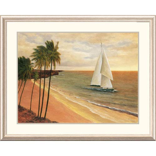 Global Gallery Tropical Holiday By Diane Romanello, 32 X 40-Inch Wall Art