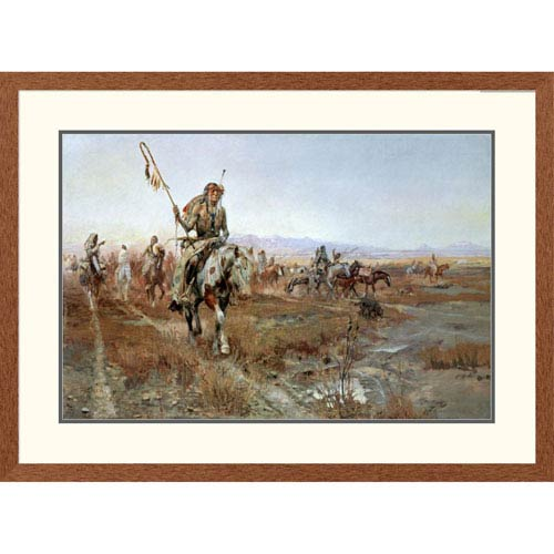 Global Gallery The Medicine Man By Charles M. Russell, 28 X 38-Inch Wall Art