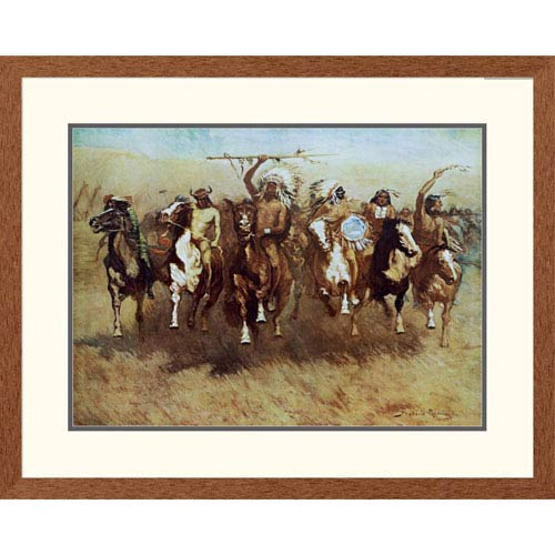 Global Gallery Victory Dance By Frederic Remington, 26 X 32-Inch Wall Art