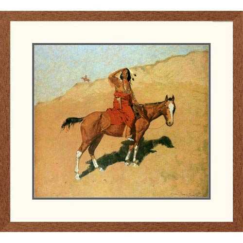 Global Gallery The Scout By Frederic Remington, 27 X 30-Inch Wall Art