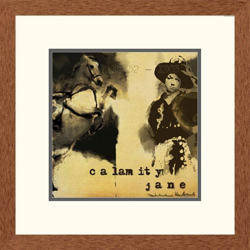 Global Gallery Calamity Jane By Julie Ueland, 20 X 20-Inch Wall Art