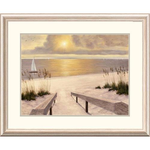 Global Gallery Beach Glow By Diane Romanello, 26 X 32-Inch Wall Art