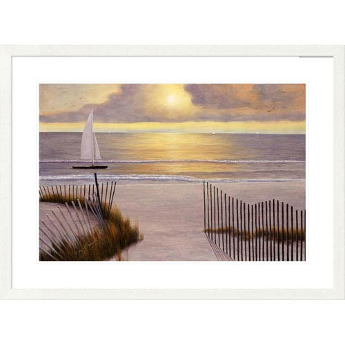 Global Gallery When The Sun Goes Down By Diane Romanello, 28 X 38-Inch Wall Art