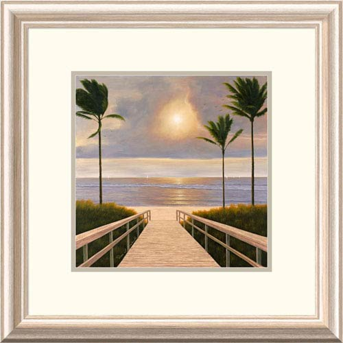 Global Gallery Palm Winds By Diane Romanello, 20 X 20-Inch Wall Art