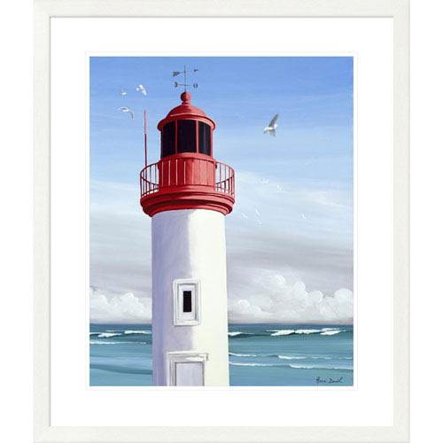 Global Gallery Le Phare By Henri Deuil, 32 X 28-Inch Wall Art