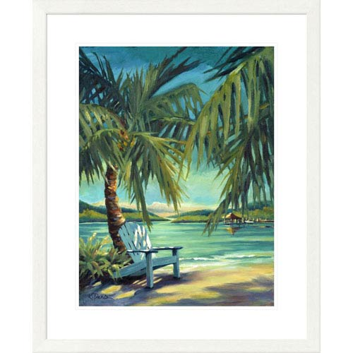 Global Gallery Sunset Harbor By Kathleen Denis, 32 X 26-Inch Wall Art