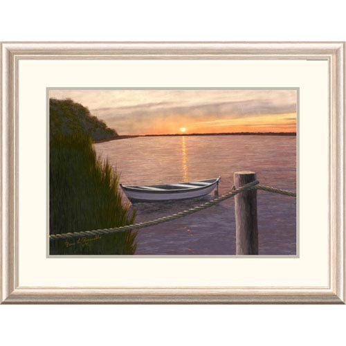Global Gallery Setting Sun By Diane Romanello, 24 X 32-Inch Wall Art