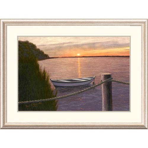Global Gallery Setting Sun By Diane Romanello, 28 X 38-Inch Wall Art