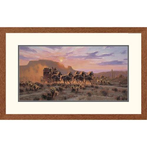 Global Gallery Racing The Sun By Tom Haas, 20 X 32-Inch Wall Art