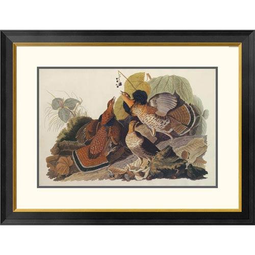 Global Gallery Ruffed Grouse By John James Audubon, 26 X 34-Inch Wall Art