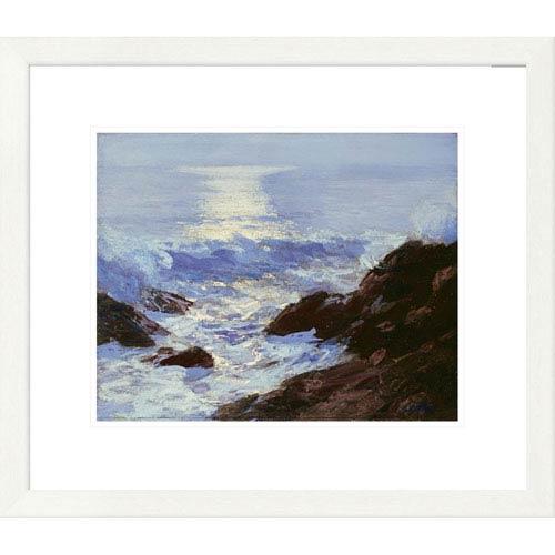 Global Gallery Moonlight By Edward Henry Potthast, 20 X 24-Inch Wall Art
