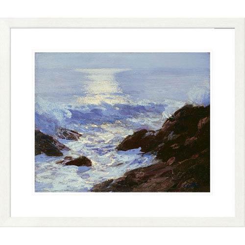 Global Gallery Moonlight By Edward Henry Potthast, 25 X 30-Inch Wall Art