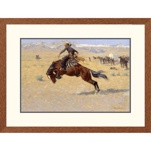 Global Gallery A Cold Morning On The Range By Frederic Remington, 22 X 30-Inch Wall Art