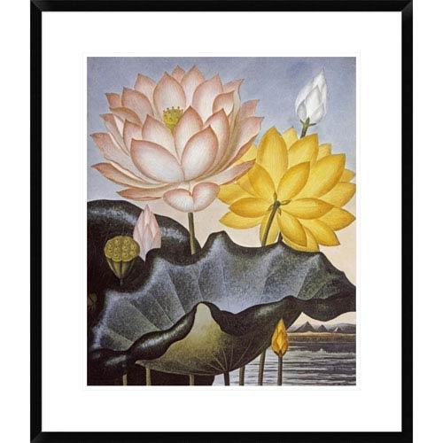 Global Gallery Sacred Egyptian Bean By Robert John Thornton, 28 X 24-Inch Wall Art