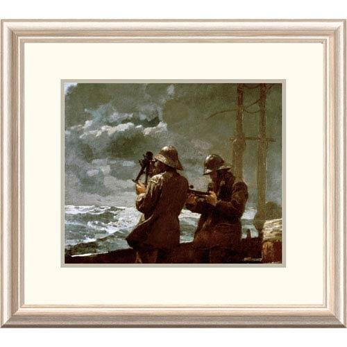 Global Gallery Eight Bells By Winslow Homer, 21 X 24-Inch Wall Art