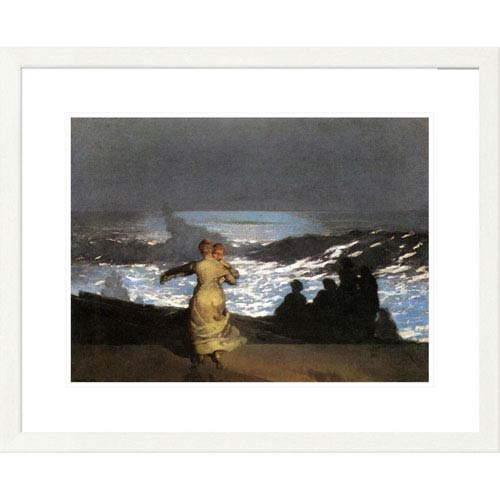 Global Gallery A Summer Night By Winslow Homer, 24 X 30-Inch Wall Art