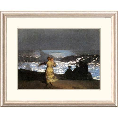 Global Gallery A Summer Night By Winslow Homer, 24 X 30-Inch Wall Art