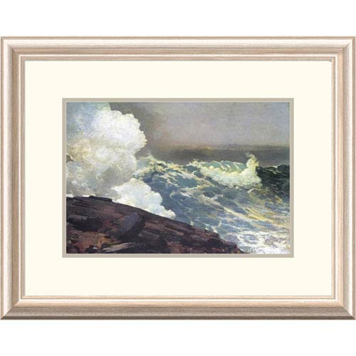Global Gallery Northeaster By Winslow Homer, 18 X 24-Inch Wall Art