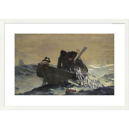 Global Gallery The Herring Net By Winslow Homer, 26 X 38-Inch Wall Art