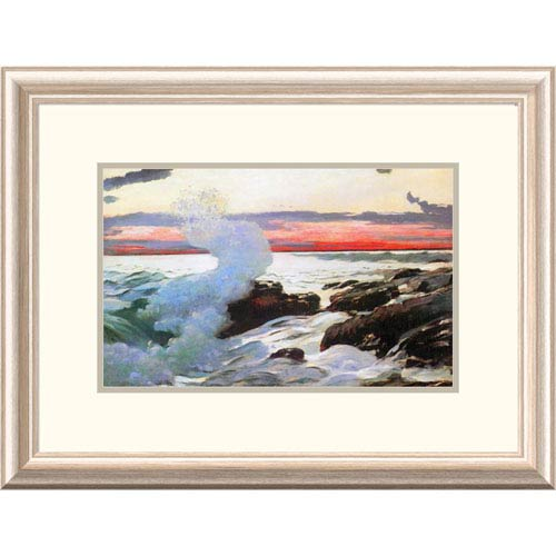 Global Gallery West Point Prouts Neck 1900 By Winslow Homer, 17 X 24 ...