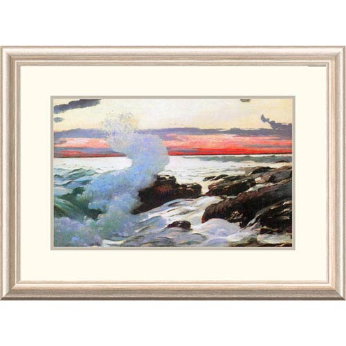 Global Gallery West Point Prouts Neck 1900 By Winslow Homer, 21 X 30-Inch Wall Art