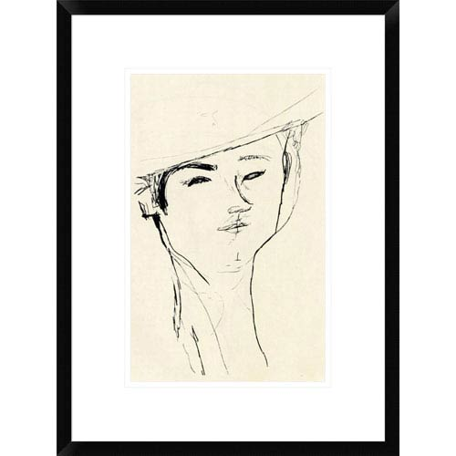Global Gallery Portrait Of A Man 1917 By Amedeo Modigliani, 22 X 16-Inch Wall Art